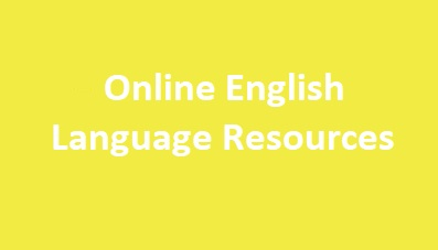 Online English Laguage Resources